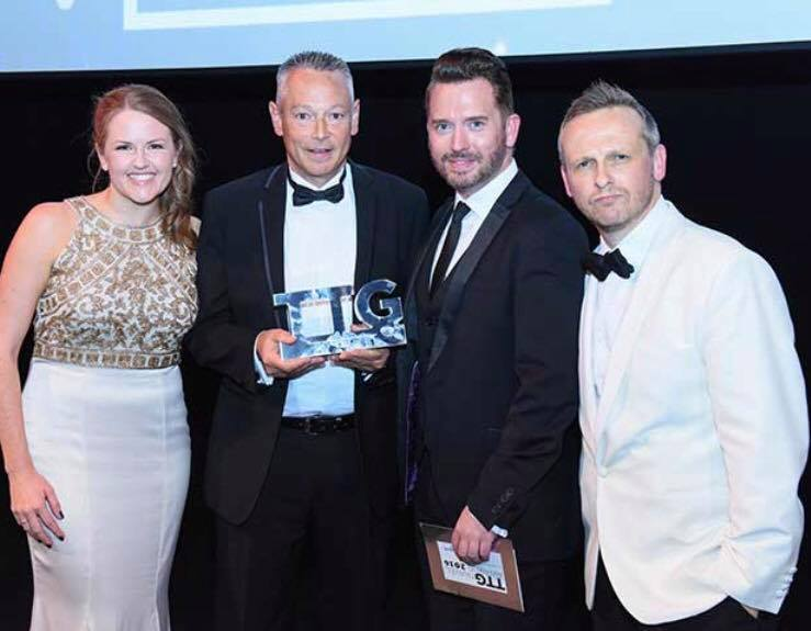 Miles Morgan Wins TTG's Outstanding Contribution Award
